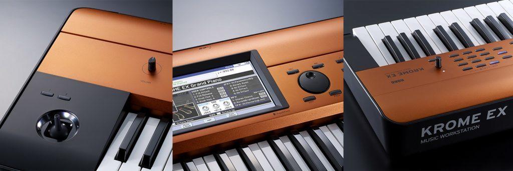 teclado workstation Krome EX Copper