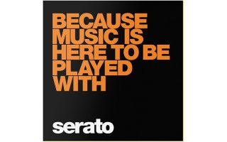"10"" Serato Performance Series (Pareja) - Because Music Is Here"