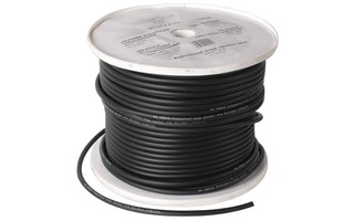 Cable altavoz profesional 2x1.50mm² - Negro - OFC