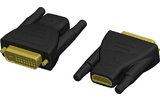 Adam Hall Connectors KCBSP 410 Adaptador de HDMI 19 hembra a DVI 25 macho
