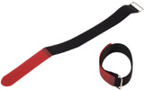 Adam Hall Accessories VR 4040 RED - Velcro 40 cm rojo