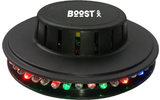 BoosT LED UFO Negro 48 LEDs RVB 10mm
