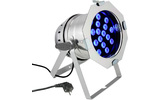 PAR 64 Cameo CAN - 18 x 3 W Color TRI LED PAR Can RGB Plata