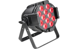 Cameo Studio PAR 64 CAN RGBWA+UV 12 W - Foco PAR LED de cuatro colores RGBWA+UV 12 x 12W