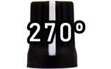 Chroma Cast Super knob 270º - Negro