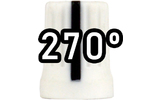 Chroma Cast Super knob 270º -  Blanco