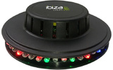Efecto LED UFO Negro 48 LEDs RVB 10mm