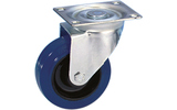 Guitel 37023 - Rueda giratoria 100mm azul