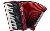 Hohner BRAVO III 120 RED NEW