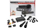 Karaoke Mixer + 2 micrófonos negro HAV-KM11