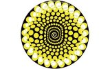 Slipmats Balls yellow Twin Pack