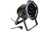 Cameo PAR 56 18 x 1 W LED PAR Can RGB en negro