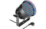 PAR Cameo 56 CAN - 151 mm x 5 LED PAR Can RGB de color negro CLP