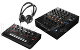 Pioneer DJM 750 MK2 + Toraiz AS-1 + Sennheser HD 25