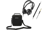 Sennheiser HD 25 Plus + Magma Headphone Case Black II