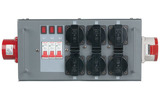 Showtec Split-Power 16 Distribuidor con fusible