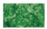 Showtec Recarga Confeti rectangular 55x17mm Verde