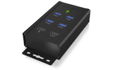 Hub 4-Port USB 3.0 Negro - ICY BOX 60363