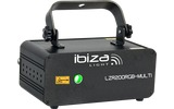 Ibiza Light LZR200RGB-MULTI