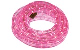 Manguera luminosa con LEDs - 9 m - color Rosa