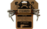 Orange 3 PACK CRUSH PATCH
