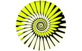 Zomo Slipmats Paint yellow Twin Pack