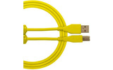 UDG Ultimate cable USB-c a USB-B 1.5 metros - Amarillo