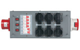 Showtec Split-Power 32 Distribuidor con fusible