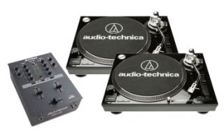 1 x DJ Tech DIF 1S + A&T LP-120 USB BK
