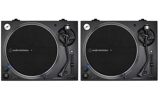 2x Audio Technica AT-LP 140X Negro ( Pareja )