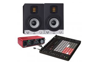 2x EVE Audio SC205 + Ableton PUSH 2 + Focusrite Scarlett 2i2 3Rd Gen