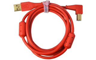 DJ TechTools Chroma Cable Rojo - Acodado