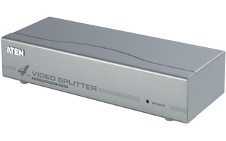 4-Port Splitter VGA Plata - Aten VS94A-AT-G