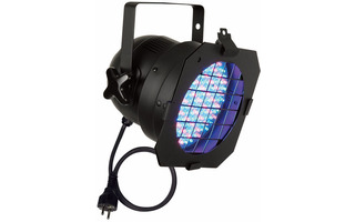 Showtec PAR 56 Corto LED - Negro