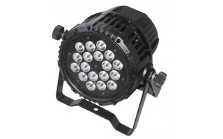AFX Light Proyector LED exterior 18x 3W RGB