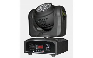 Cabeza Movil LED BEAM - Speedy 4 x 10W LED RGBW