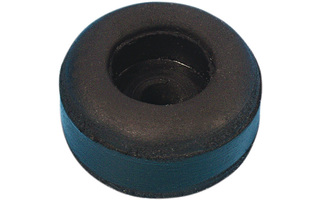 Adam Hall Hardware 4900 - Pie de goma 25 x 11 mm negro