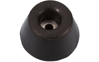 Adam Hall Hardware 4901 - Pie de goma 30 x 15 mm
