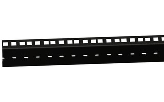 "Adam Hall 19"" Parts 61555 BLK - Perfil doble de Rack de alta Resistencia negro 45 U"