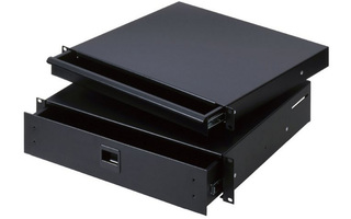 "Adam Hall 19"" Parts 87402 E - Cajón de Rack 2 U acero"
