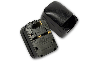 Adam Hall Connectors KSCP 3 Adaptador de Enchufe con toma de tierra/UK negro 13 A