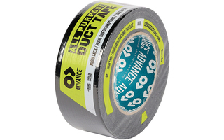 Advance Tapes 5806 BLK Cinta americana negra 50mm x 50m