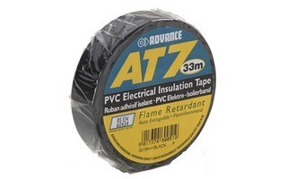 Advance Tapes 5808 BLK Cinta aislante PVC negra 19 mm x 33m