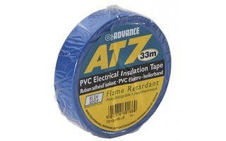 Advance Tapes 5808 BLU Cinta aislante PVC azul 19 mm x 33m