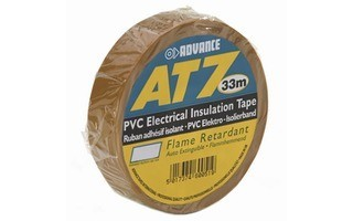 Advance Tapes 5808 BRW Cinta aislante PVC marrón 19 mm x 33m