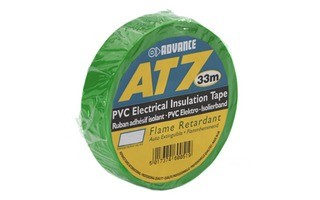 Advance Tapes 5808 GRN Cinta aislante PVC verde 19 mm x 33m