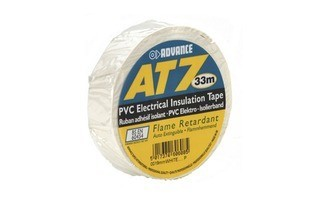 Advance Tapes 5808 W Cinta aislante PVC blanca 19 mm x 33m