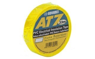 Advance Tapes 5808 YEL Cinta aislante PVC amarilla 19 mm x 33m