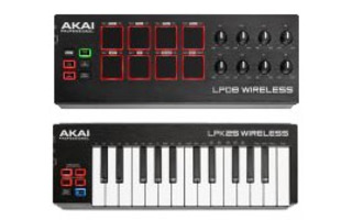 Akai LPD 8 & LPK 25 Wireless SET