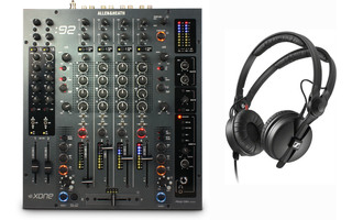 Allen & Heath Xone:92 + Sennheiser HD 25